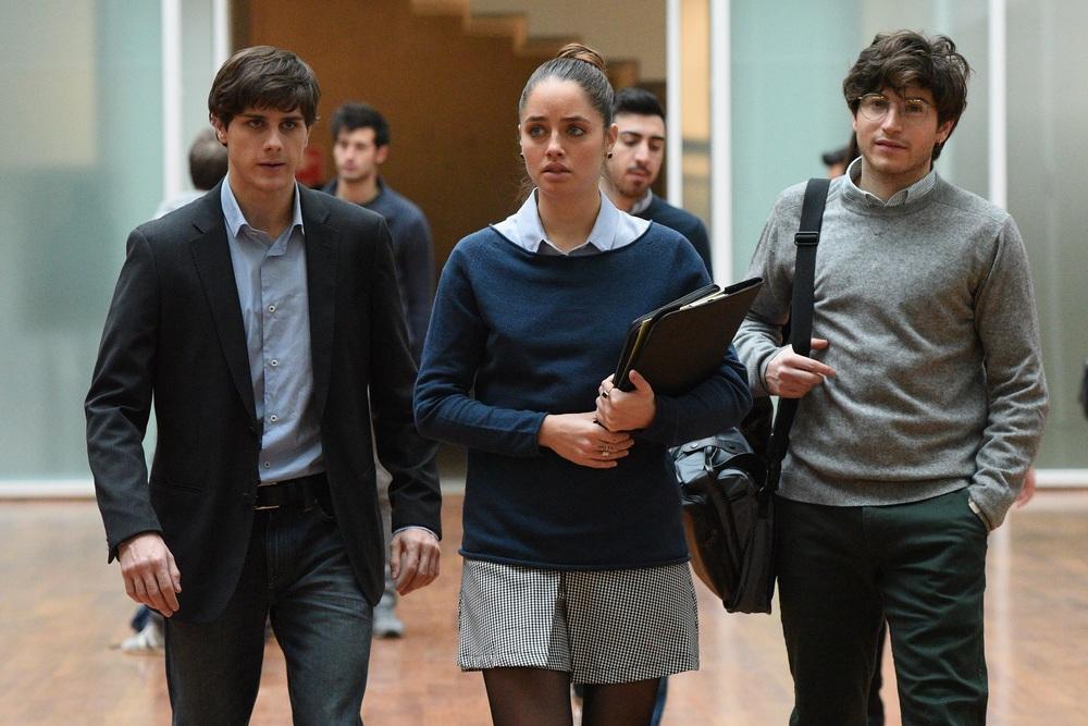 The Startup - Accendi il tuo futuro: Matteo Vignati, Matilde Gioli e Andrea Arcangeli in un momento del film