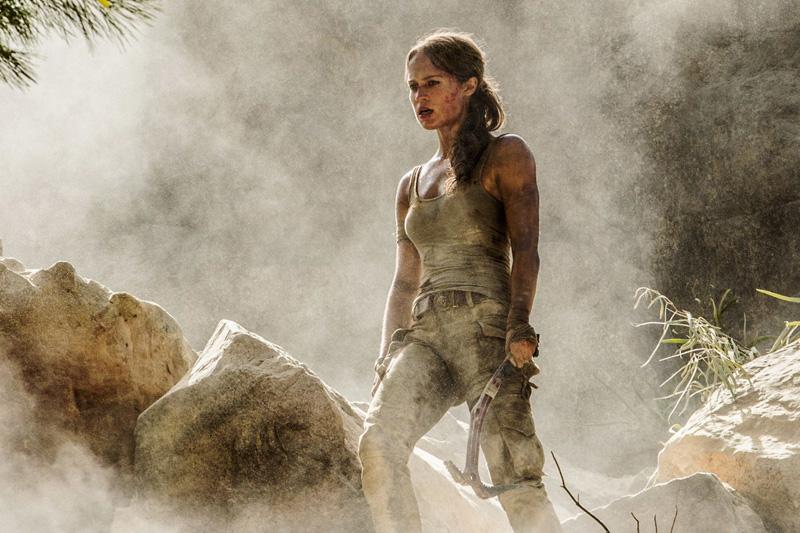 Tomb Raider: Alicia Vikander in una nuova foto del film
