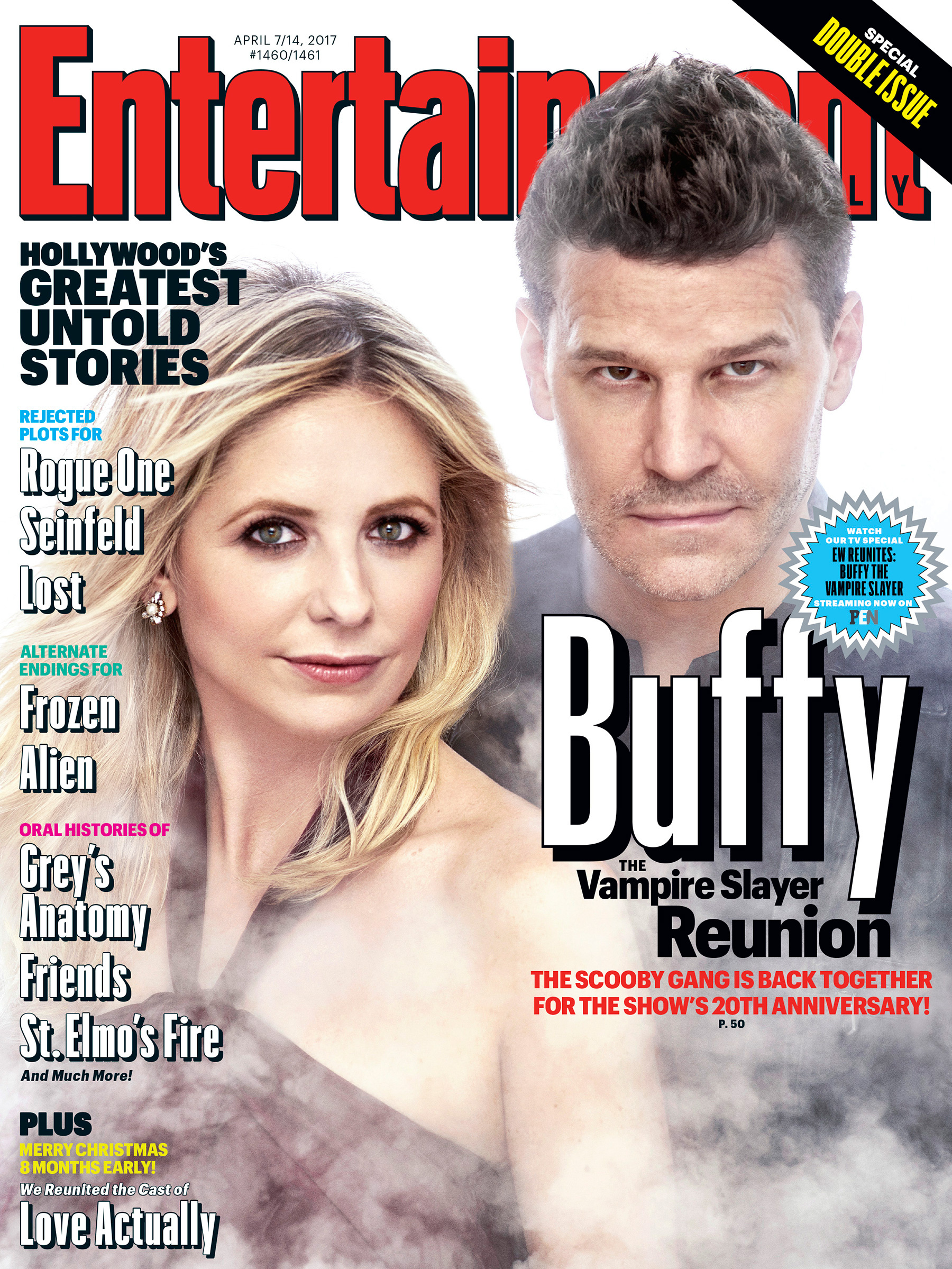 Buffy: la copertina di EW dedicata all'anniversario