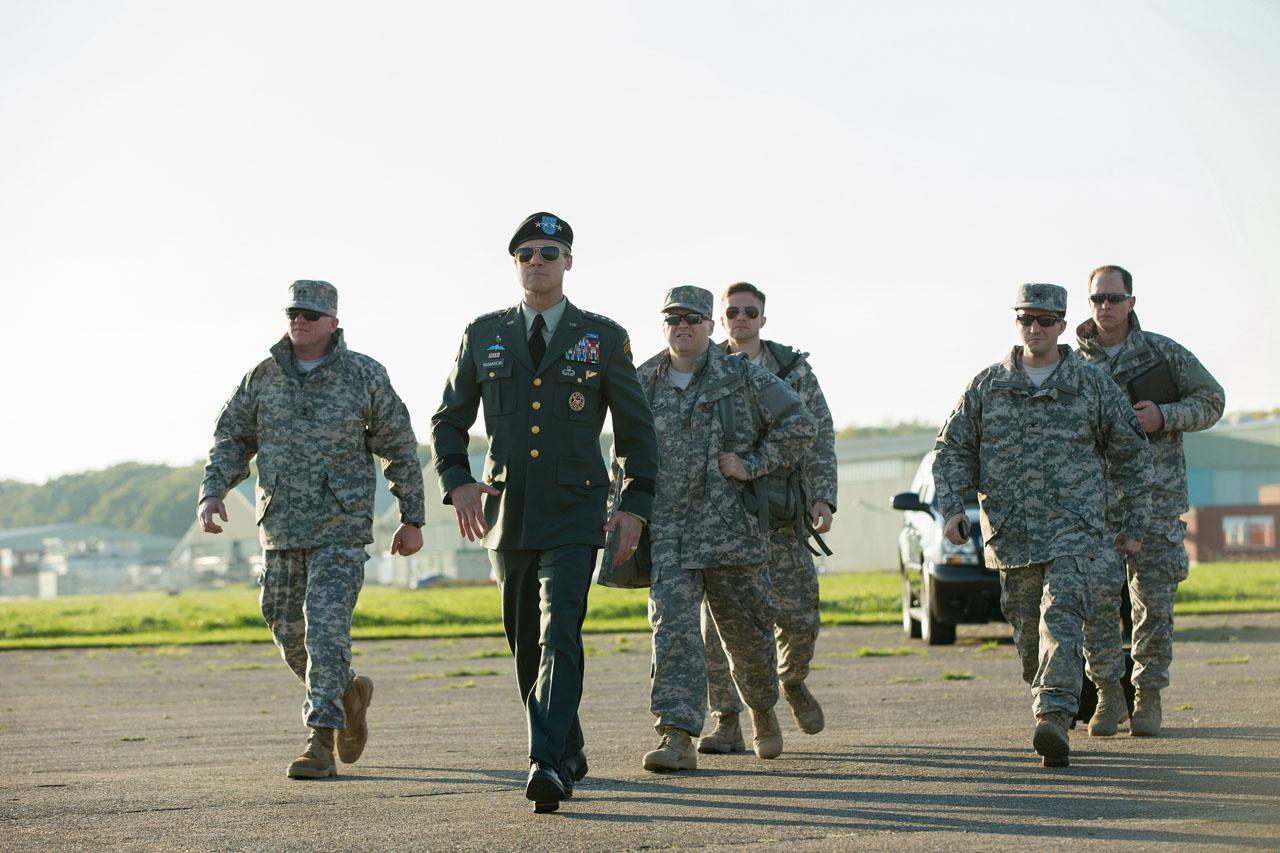 War Machine: una foto del cast guidato da Brad Pitt