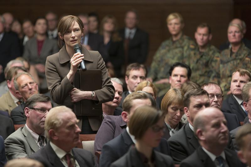 War Machine: Tilda Swinton in una foto del film