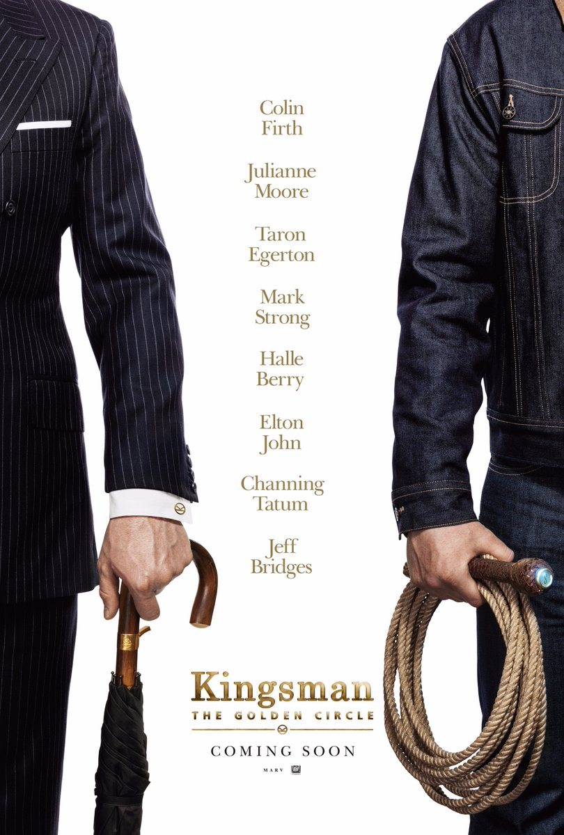 Kingsman: The Golden Circle, la nuova locandina