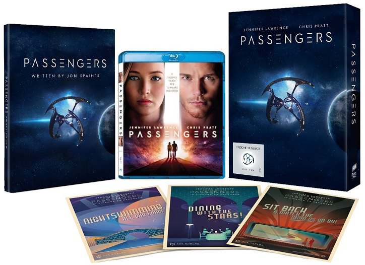 La Blu-ray Fan Edition di Passengers