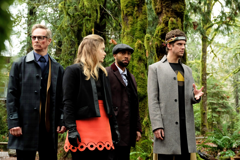 Legion: il cast in una scena di gruppo nel finale di stagione