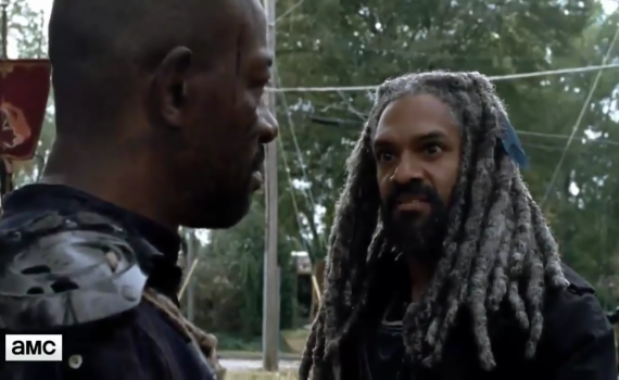 The Walking Dead: una scena dell'episodio The First Day of the Rest of Your Life