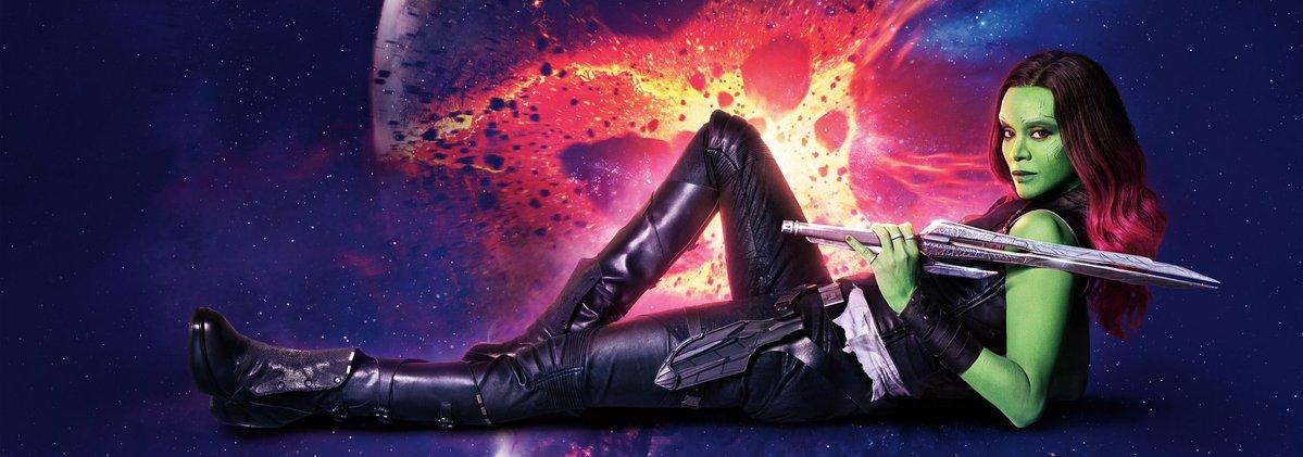 Guardiani della Galassia Vol.2 - Un banner dedicato a Gamora