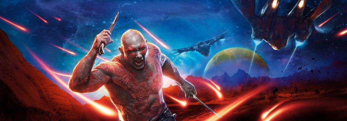 Guardiani della Galassia Vol.2 - Un banner dedicato a Drax