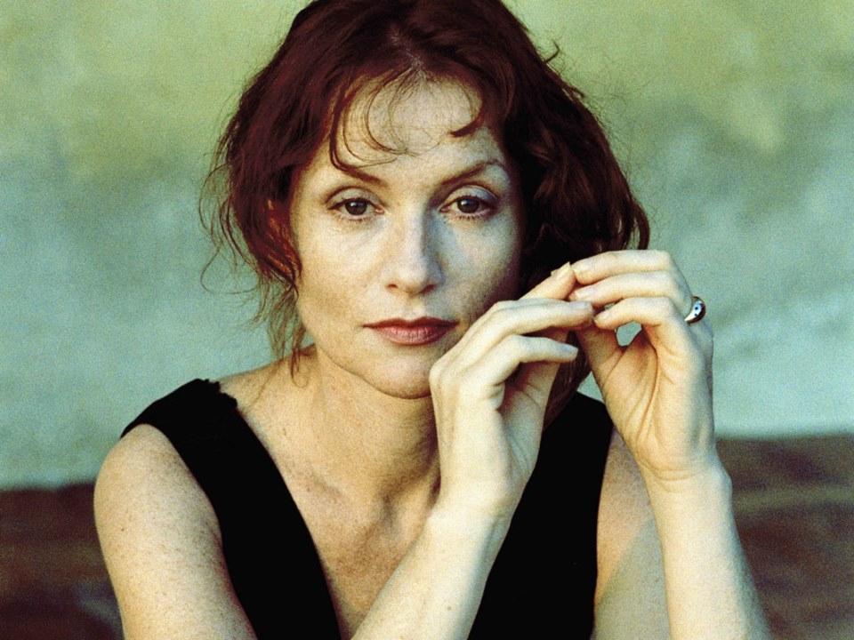 Isabelle Huppert in un'immagine che la ritrae