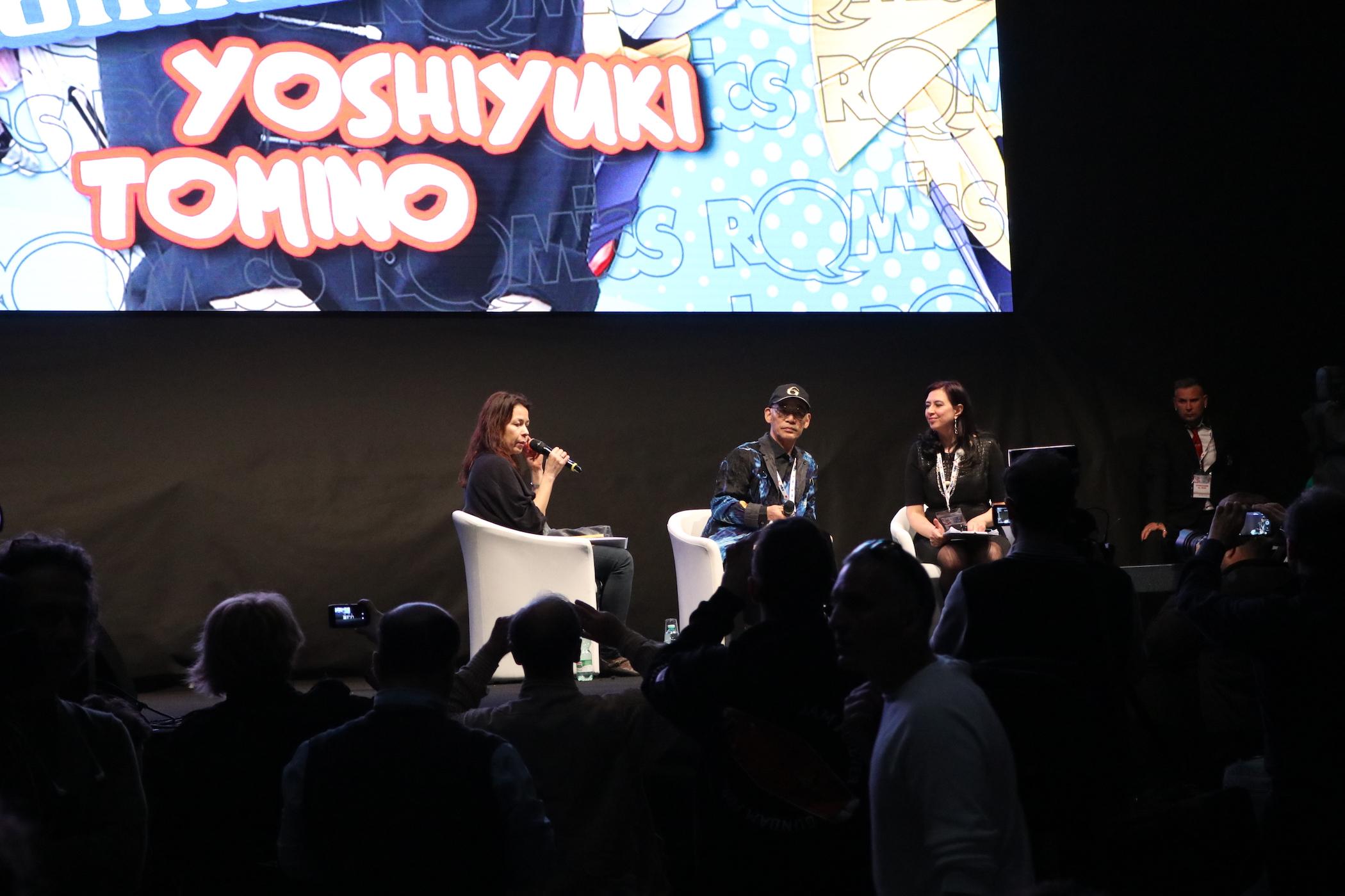 Romics 2017: Yoshiyuki Tomino sul palco della manifestazione