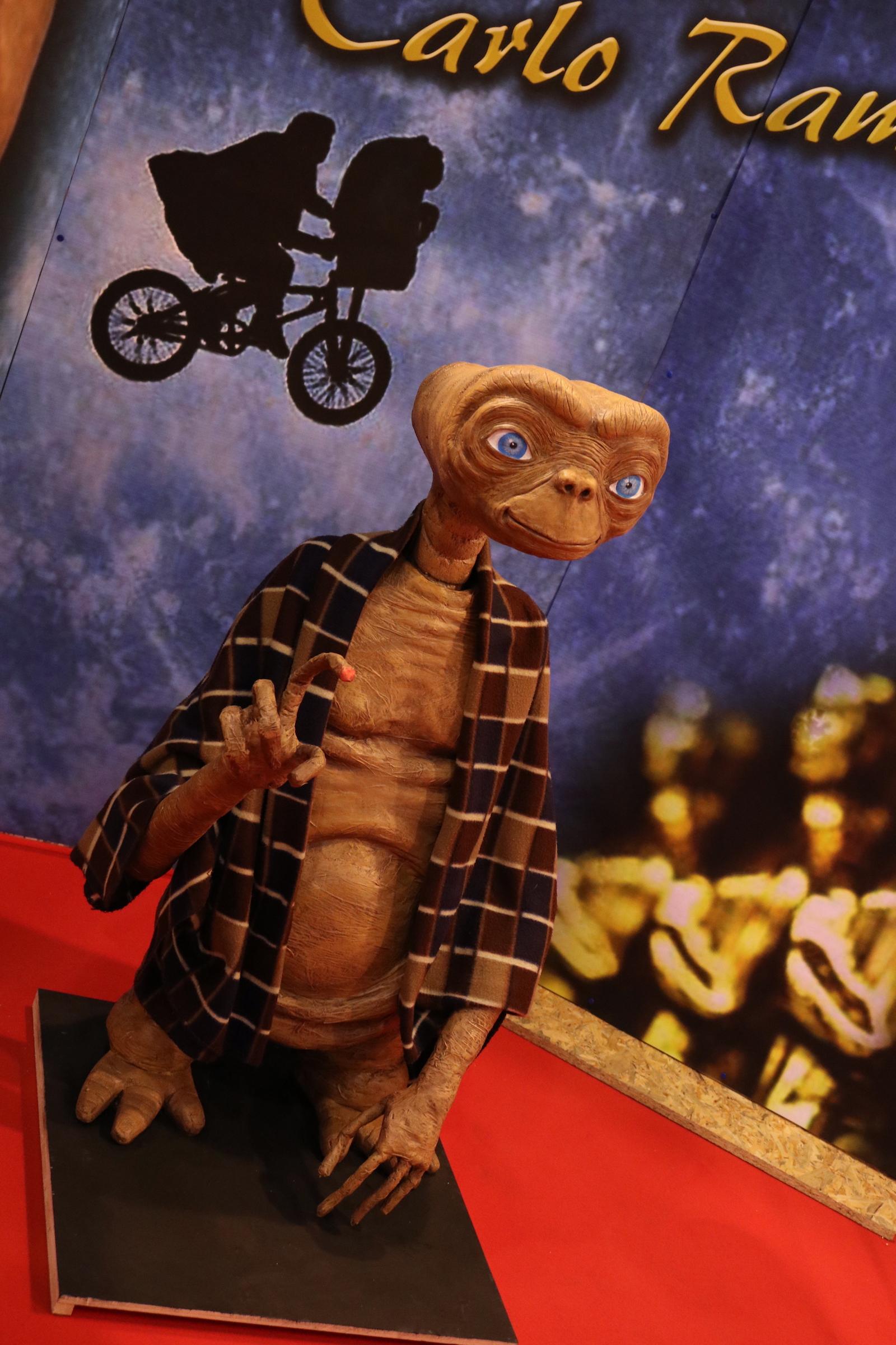 Romics 2017: il piccolo E.T. alla mostra dedicata a Carlo Rambaldi