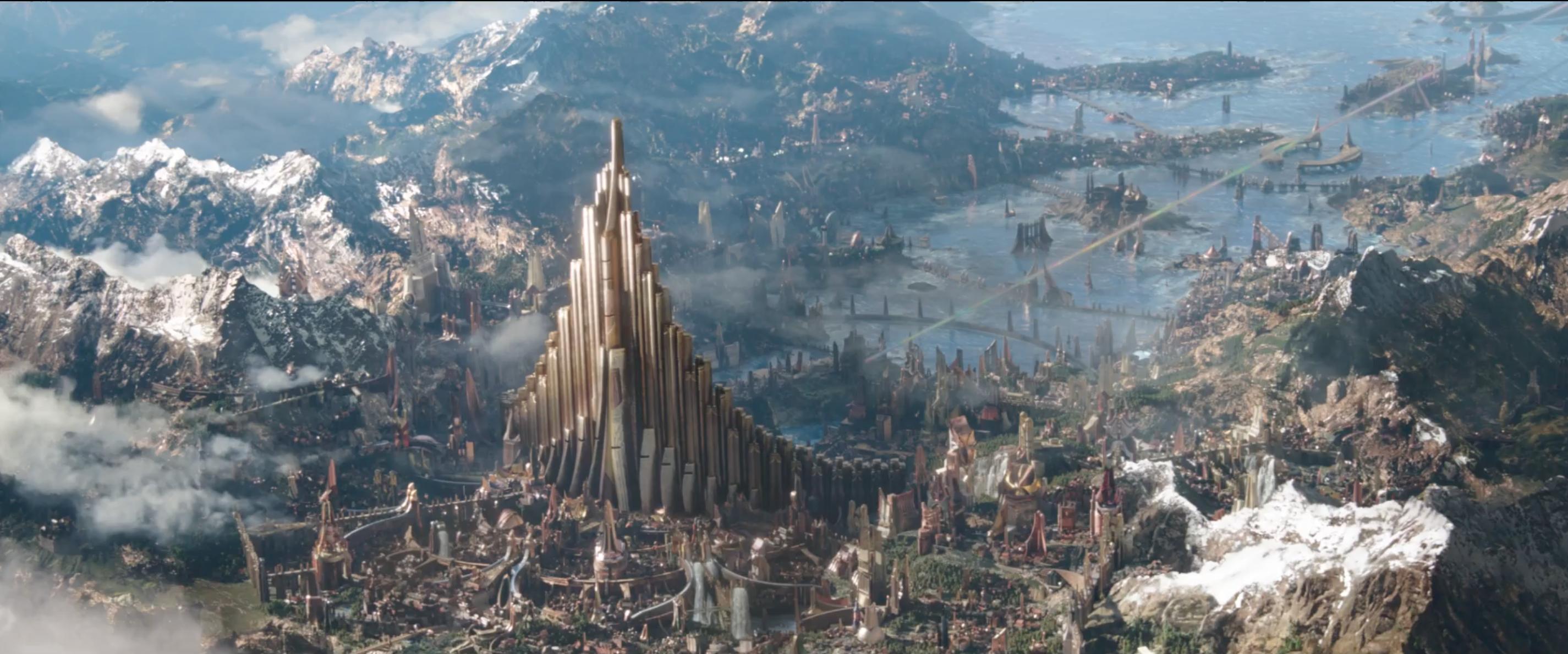Thor: Ragnarok - L'assedio di Asgard in un'immagine del primo teaser