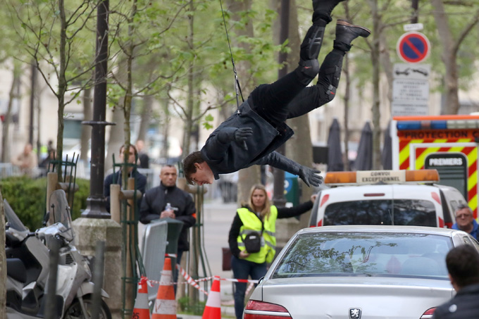 Mission: Impossible 6 - Tom Cruise in una foto dal set