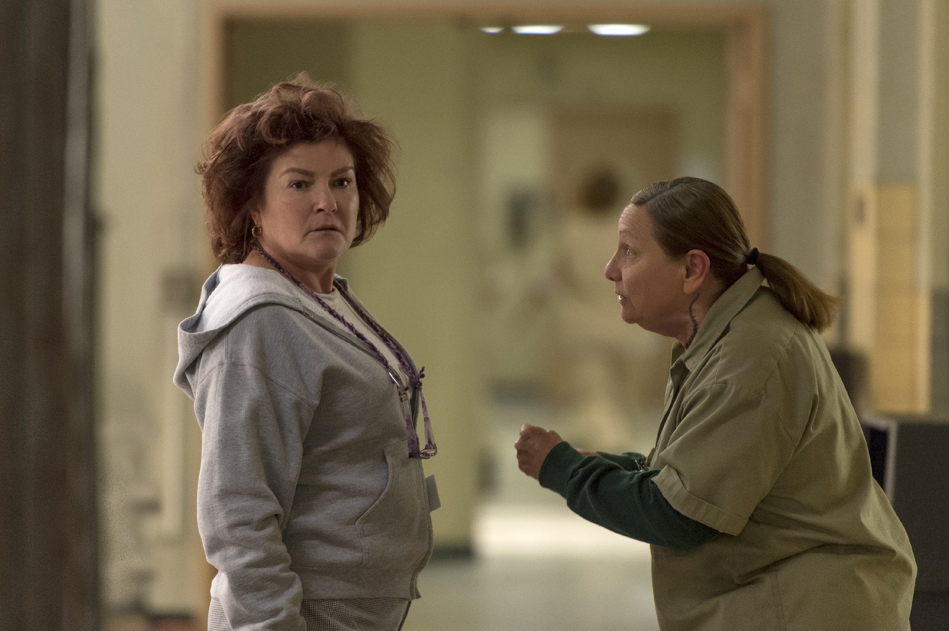 Orange Is The New Black: Kate Mulgrew in un'immagine della quinta stagione