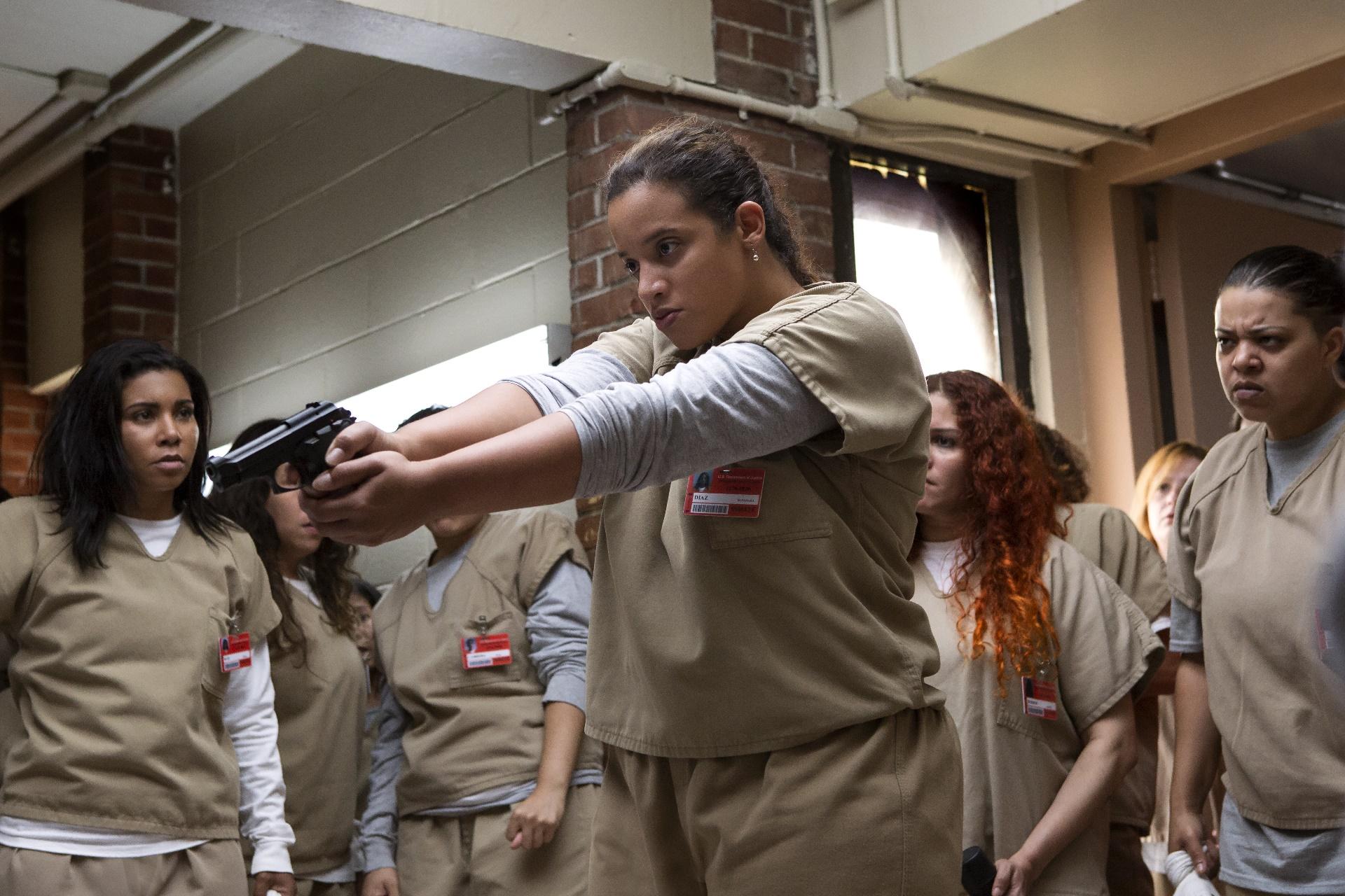 Orange Is The New Black: Dasha Polanco in una foto della quinta stagione