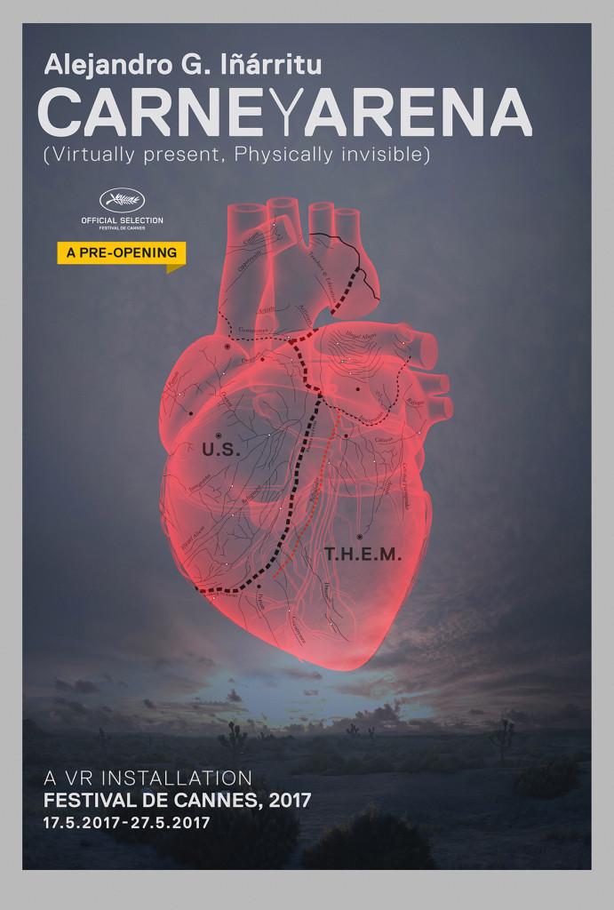 Carne y Arena: il poster del progetto di Inarritu