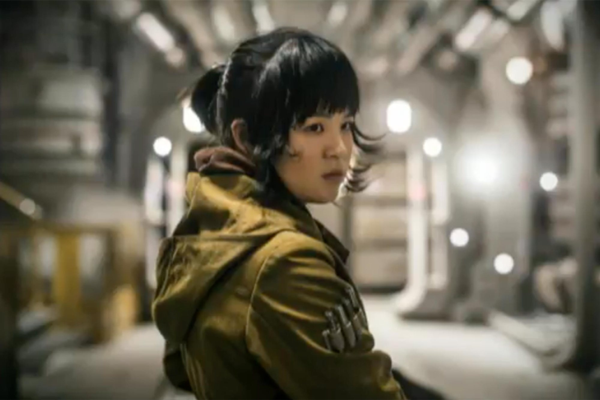 Star Wars: Gli ultimi Jedi - Kelly Marie Tran interpreta Rose