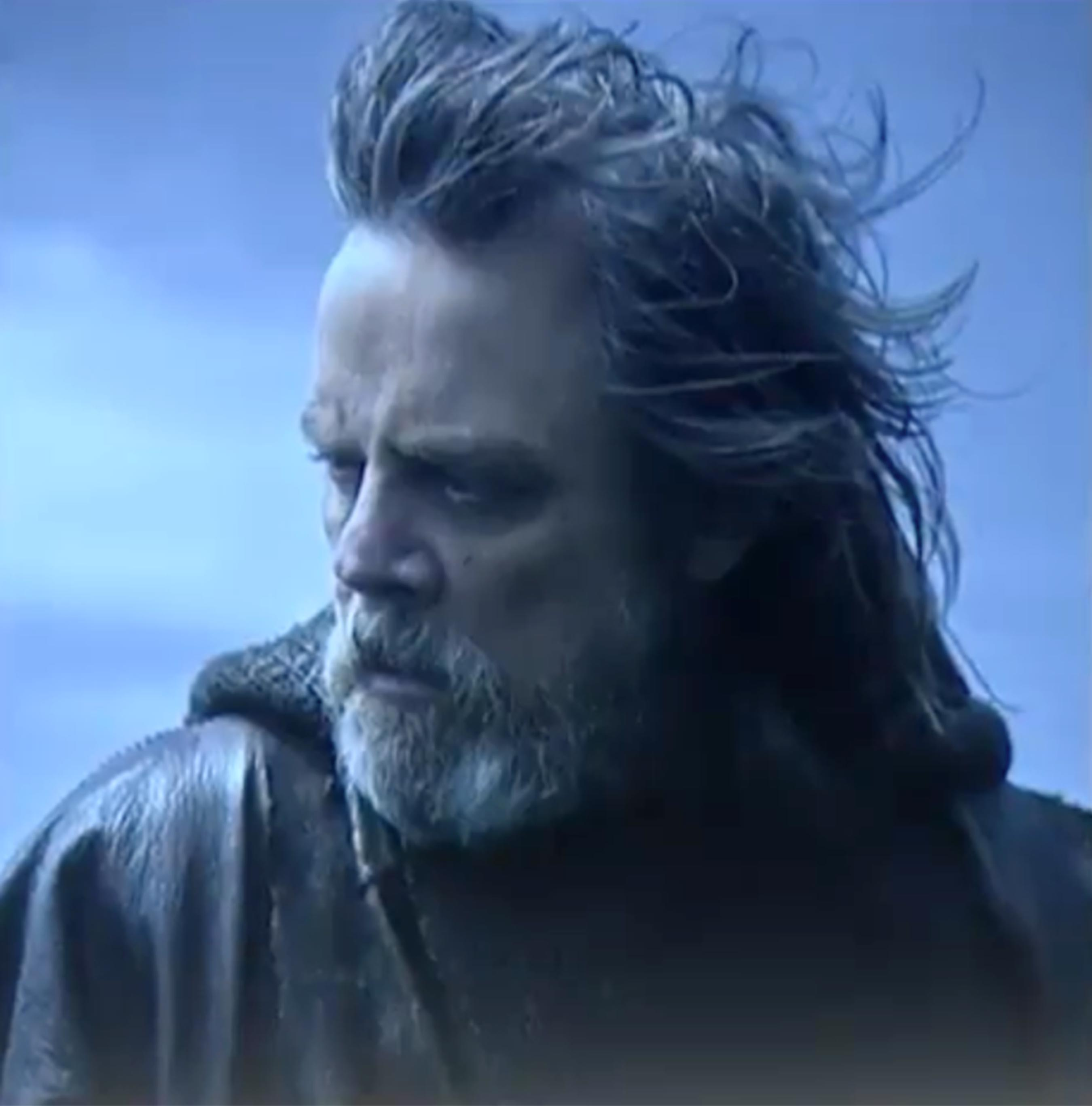 Star Wars: Gli ultimi Jedi - Un'immagine di Luke Skywalker