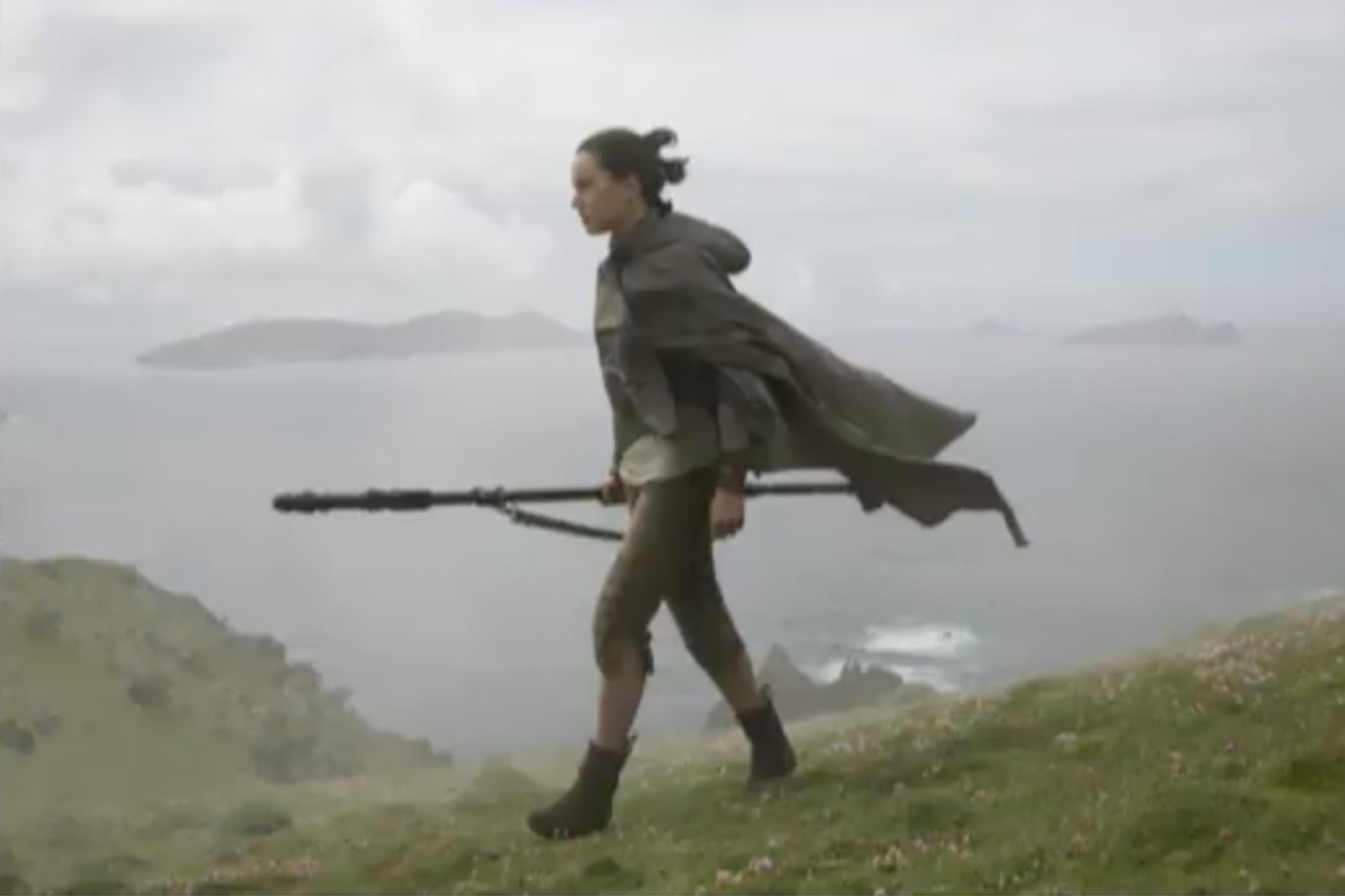 Star Wars: Gli ultimi Jedi - Daisy Ridley interpreta Rey