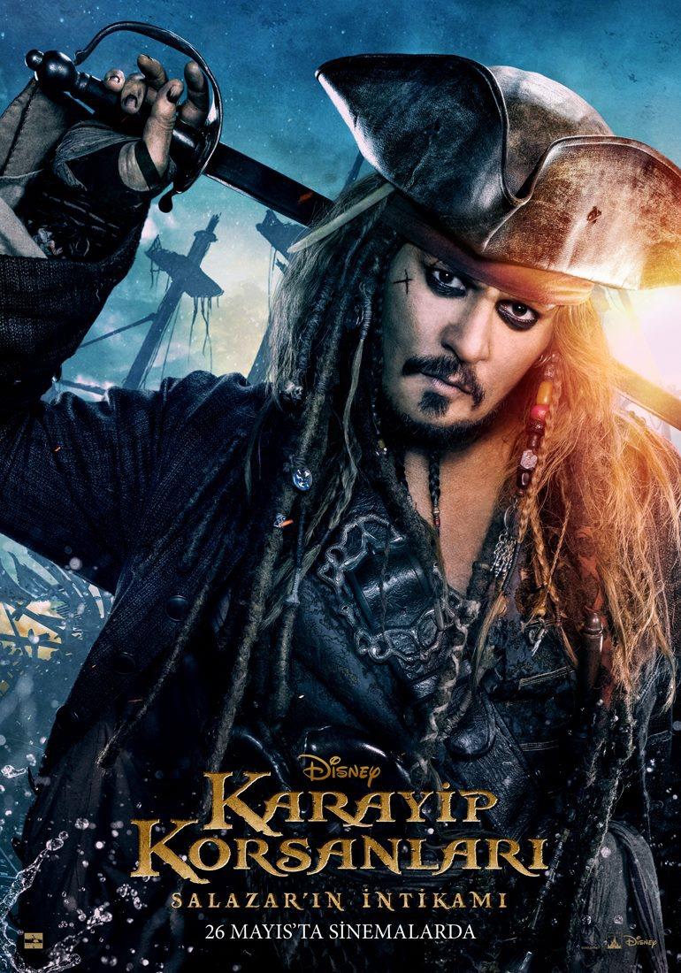 Pirati dei Caraibi: La vendetta di Salazar - Un character poster di Johnny Depp