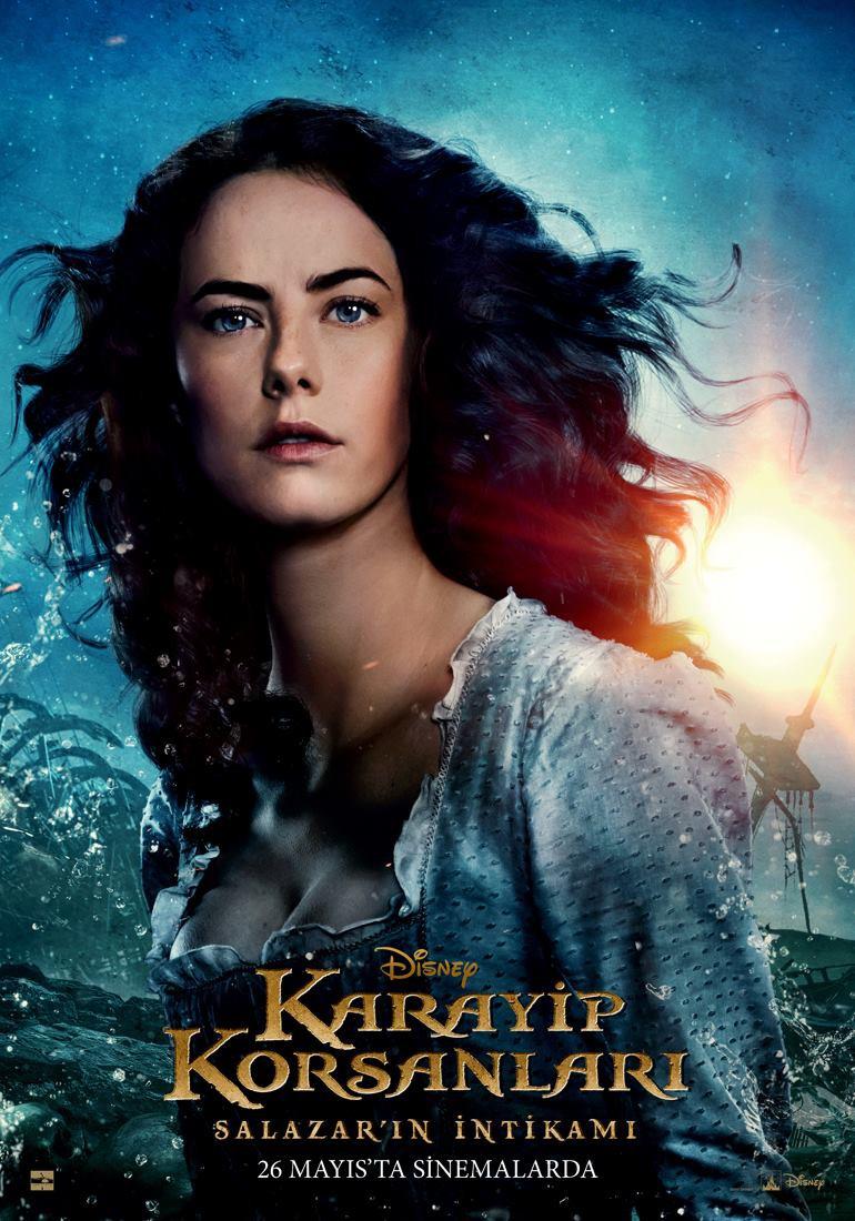 Pirati dei Caraibi: La vendetta di Salazar - Un character poster di Kaya Scodelario