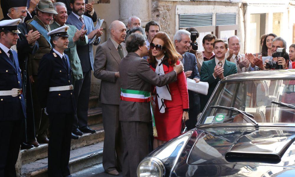 Di padre in figlia: l'attrice Francesca Cavallin sul set
