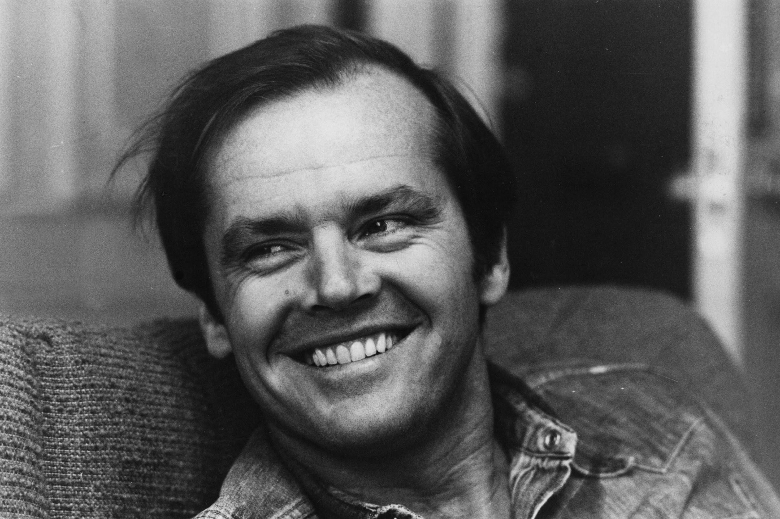 Un primo piano di Jack Nicholson