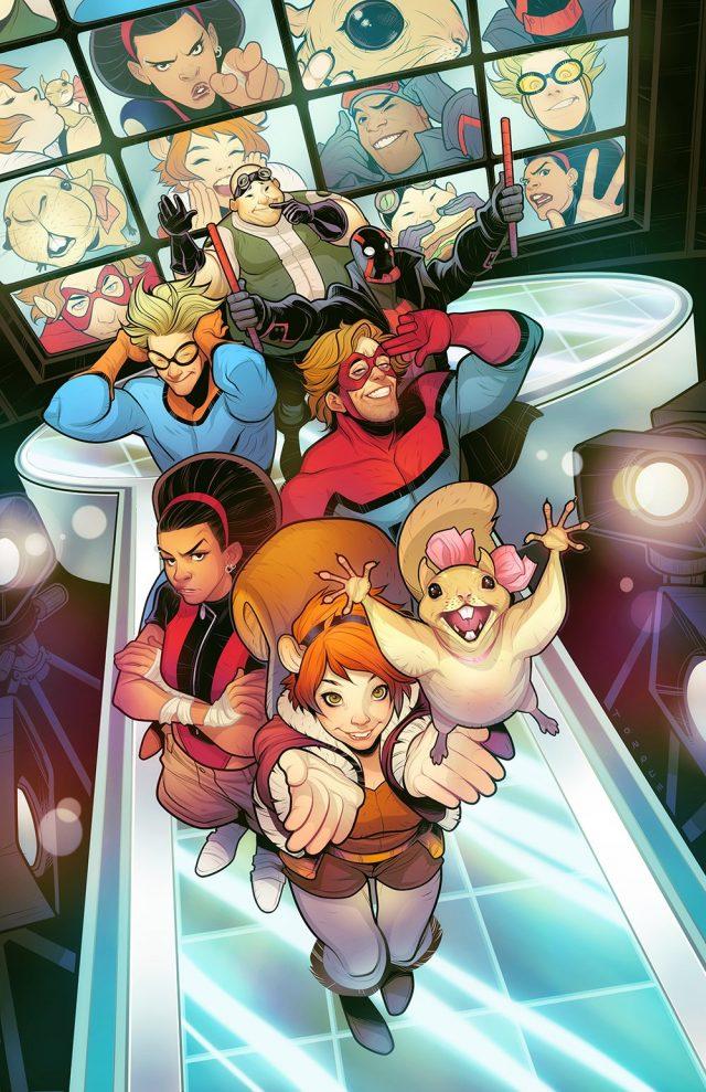 New Warriors: i protagonisti della serie animata