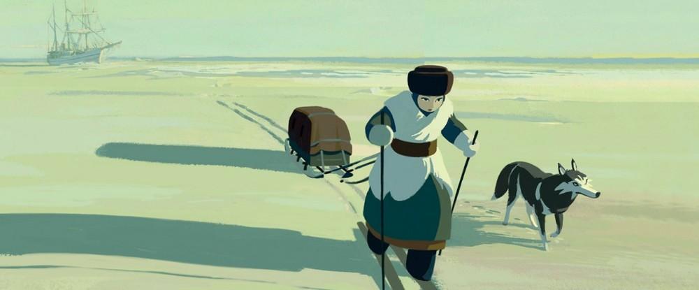 Sasha e il Polo Nord: un'immagine del film d'animazione