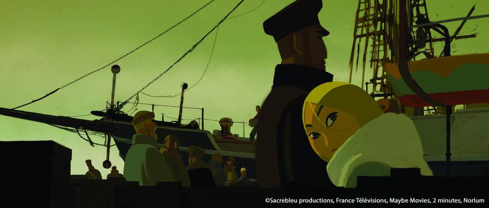 Sasha e il Polo Nord: un'immagine del film animato