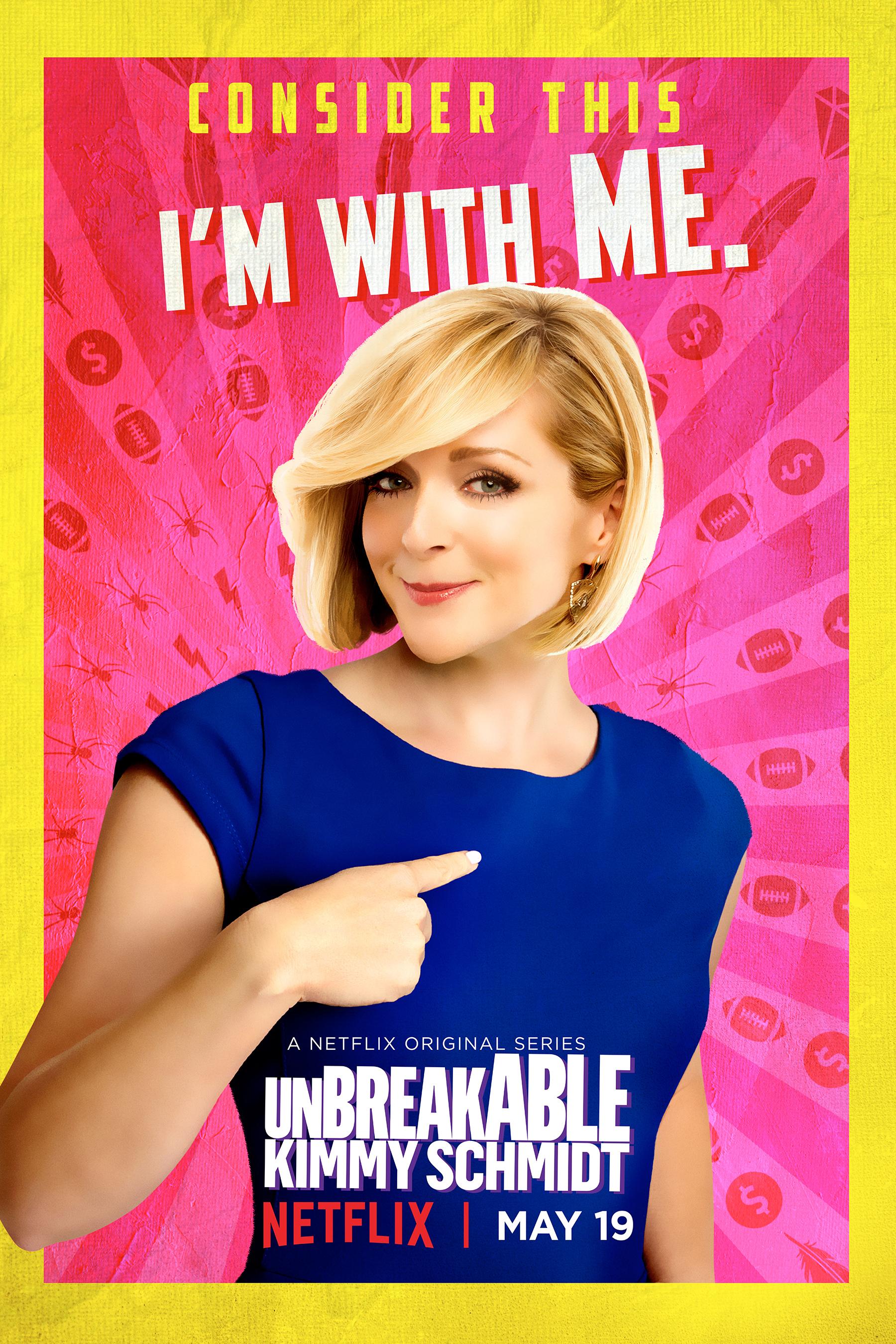 Unbreakable Kimmy Schmidt: il character poster di Jacqueline