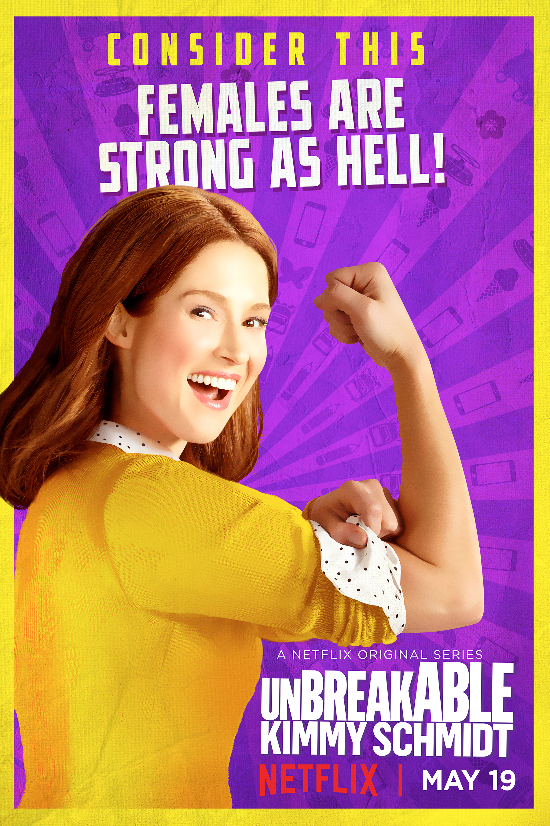 Unbreakable Kimmy Schmidt: il character poster di Kimmy