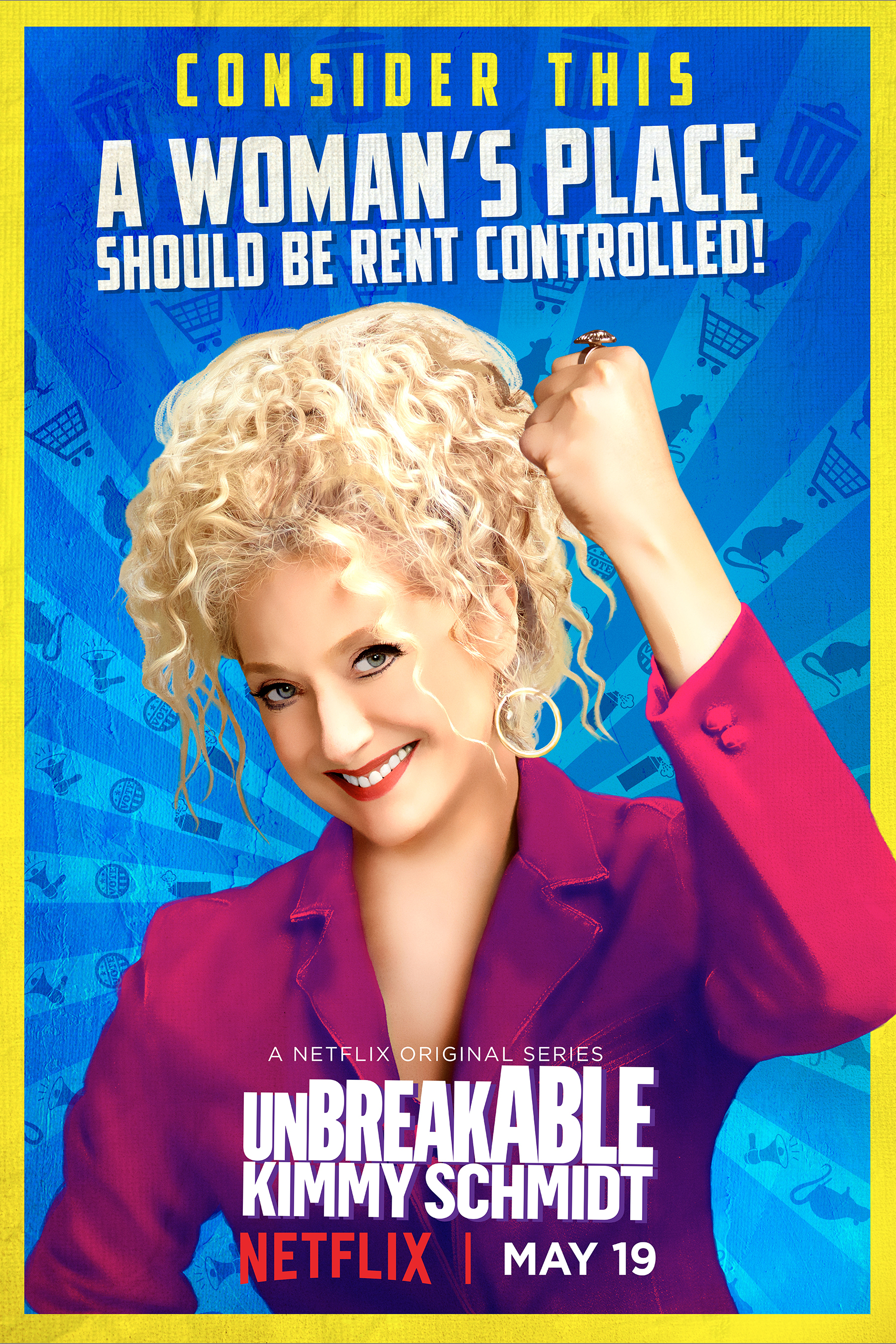Unbreakable Kimmy Schmidt: il character poster di Lillian