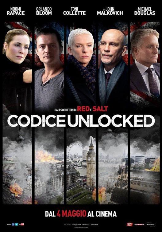 Codice Unlocker: la nuova locandina italiana