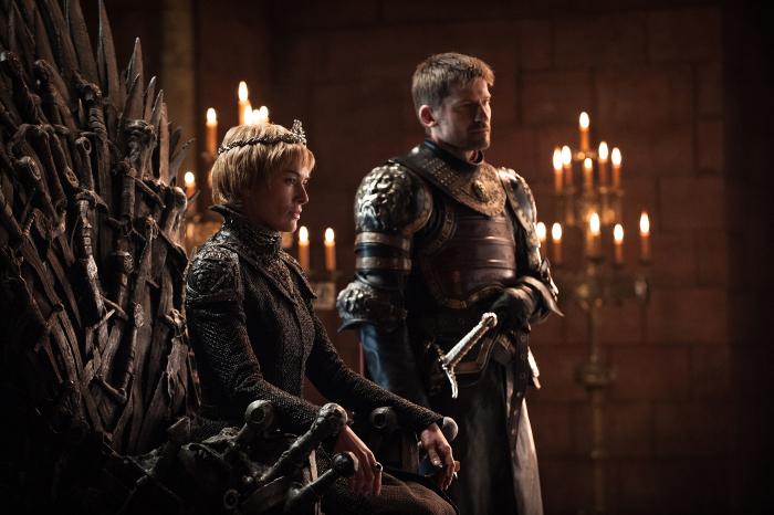 Il Trono di Spade: Cersei sul trono di spade