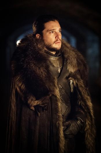 Il Trono di Spade: Kit Harington in una foto della settima stagione