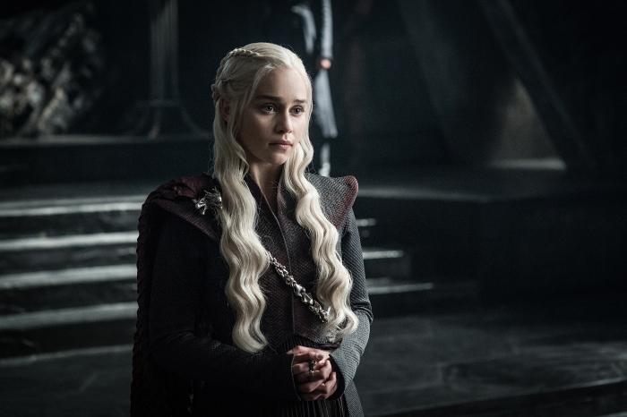 Il Trono di Spade: Emilia Clarke in una foto della settima stagione