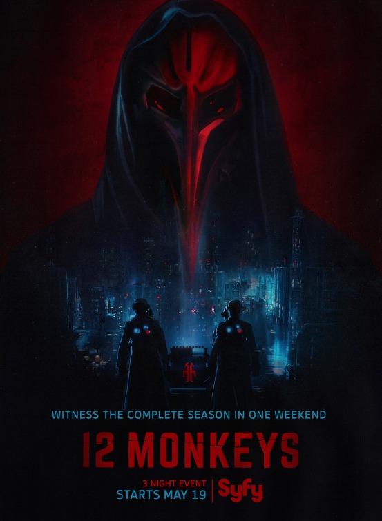 12 Monkeys: un manifesto per la serie