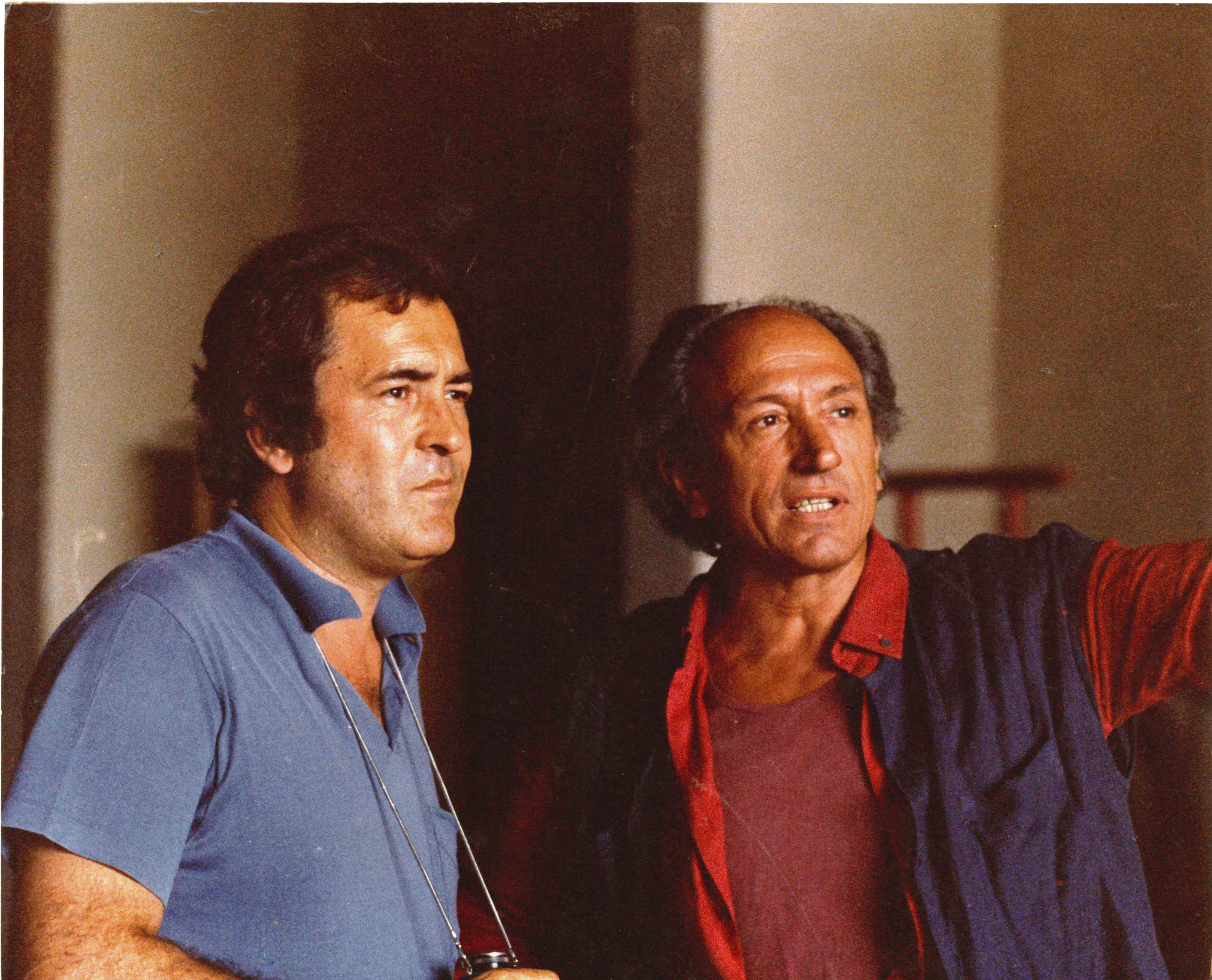 Acqua e Zucchero - Carlo di Palma: I colori della vita, Di Palma e Bertolucci in un'immagine del documentario