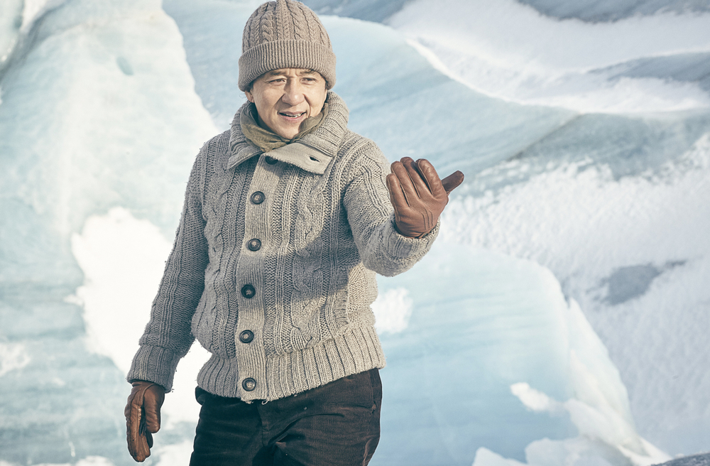 Kung Fu Yoga: Jackie Chan in un momento del film