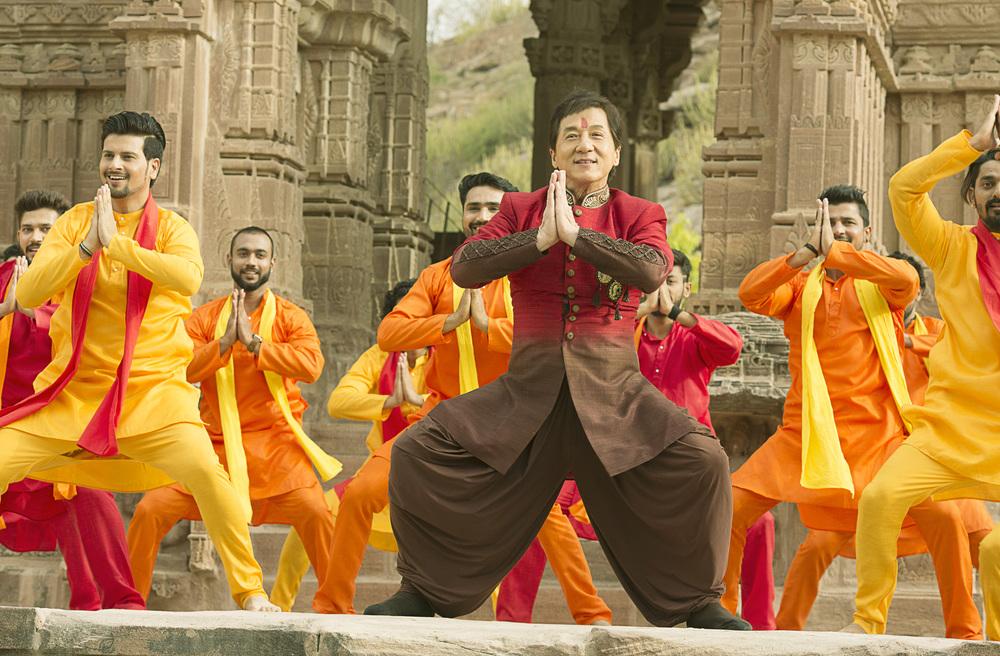 Kung Fu Yoga: Jackie Chan in una scena del film
