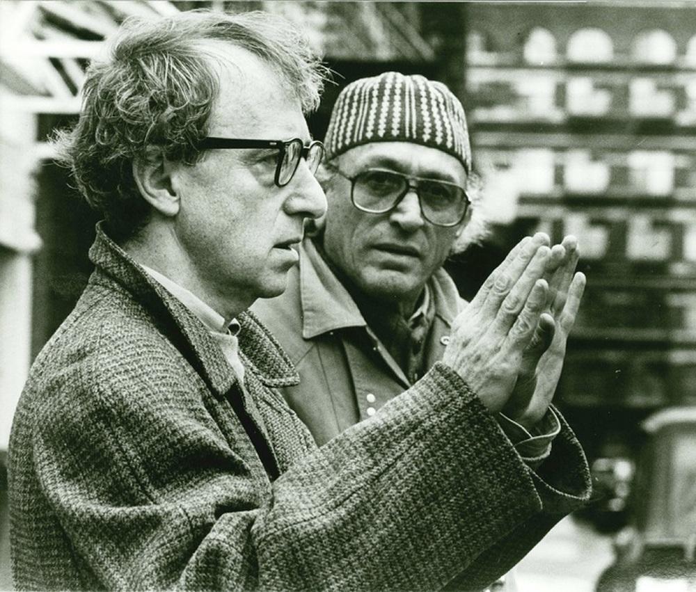 Acqua e zucchero - Carlo Di Palma: i colori della vita, Woody Allen in un momento del documentario