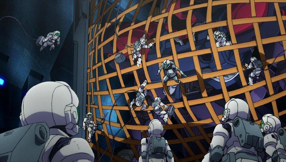 Mobile Suite Gundam Thunderbolt: December Sky, un momento del film d'animazione