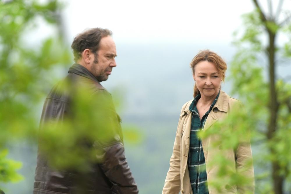 Quello che so di lei: Olivier Gourmet e Catherine Frot in una scena del film