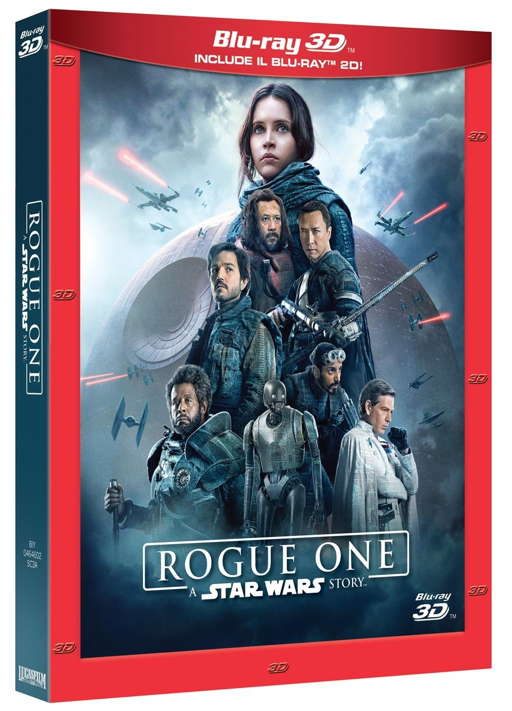 Il blu-ray 3D e 2D di Rogue One: A Star Wars Story