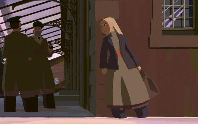 Sasha e il Polo Nord: un momento del film d'animazione