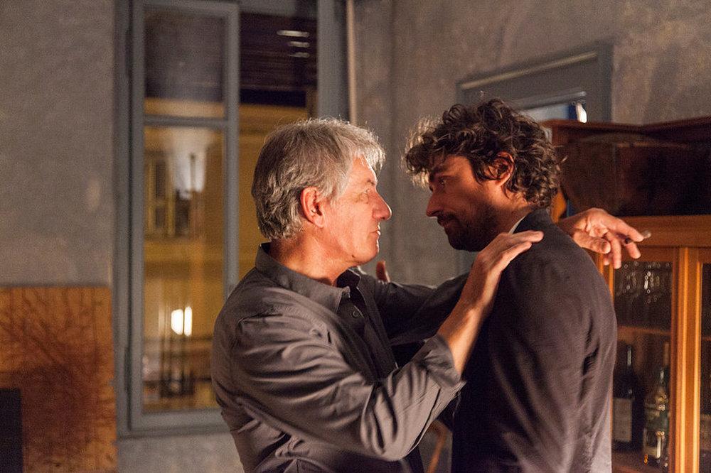The Space Between: Flavio Parenti e Giancarlo Previati in un momento del film