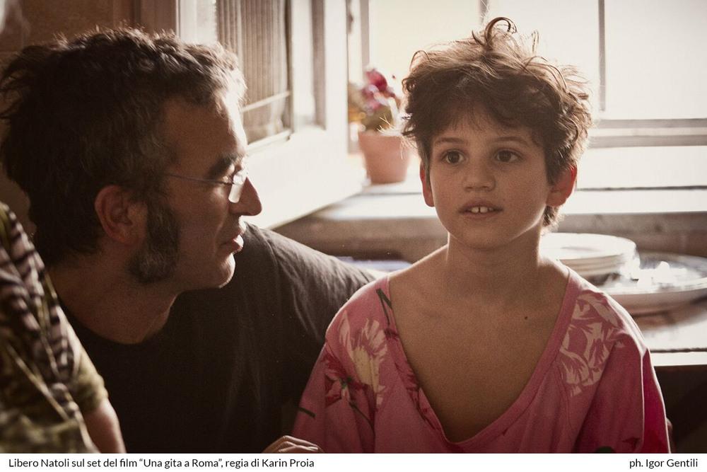 Una gita a Roma: Libero Natoli sul set del film