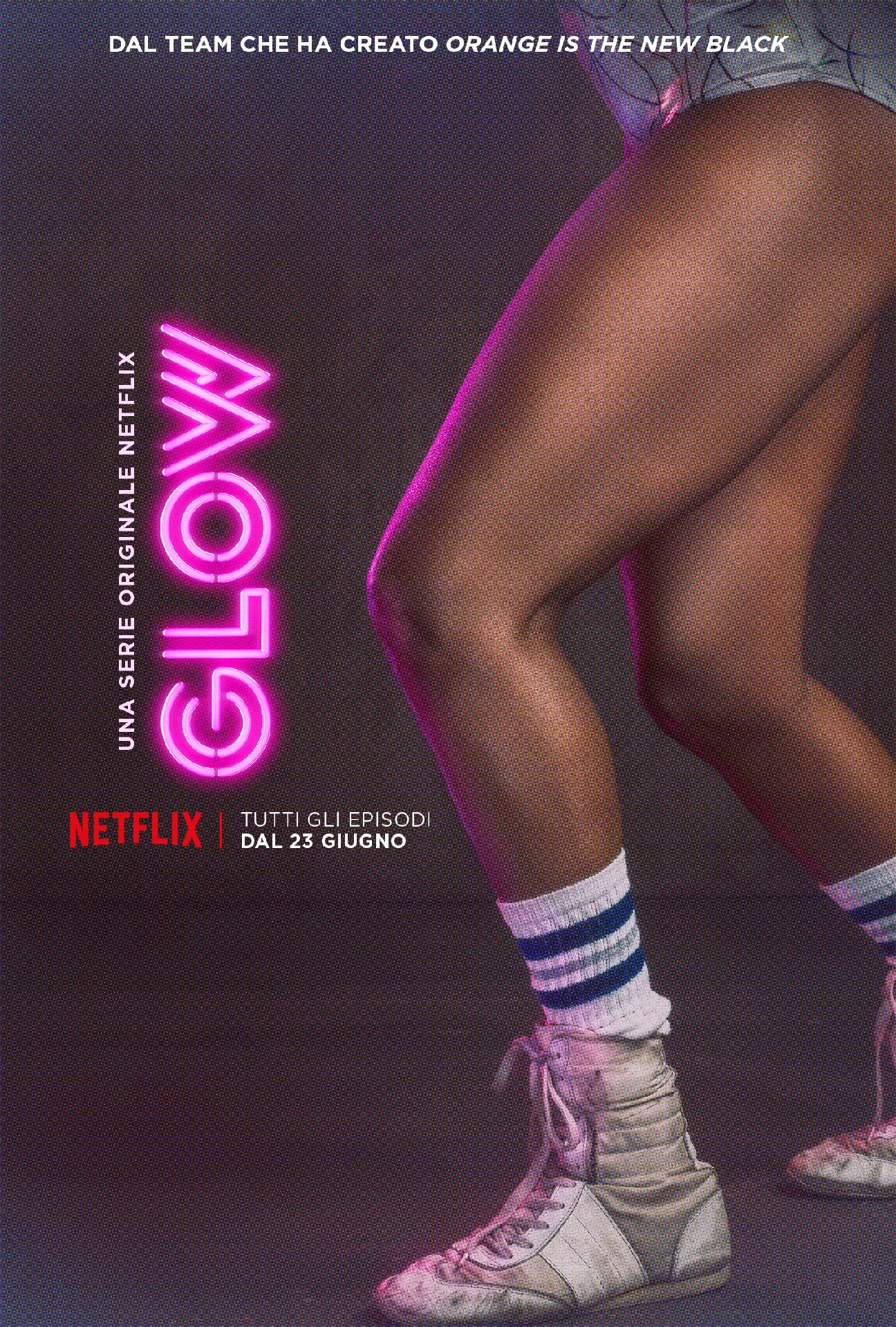 GLOW: il poster di Cherry