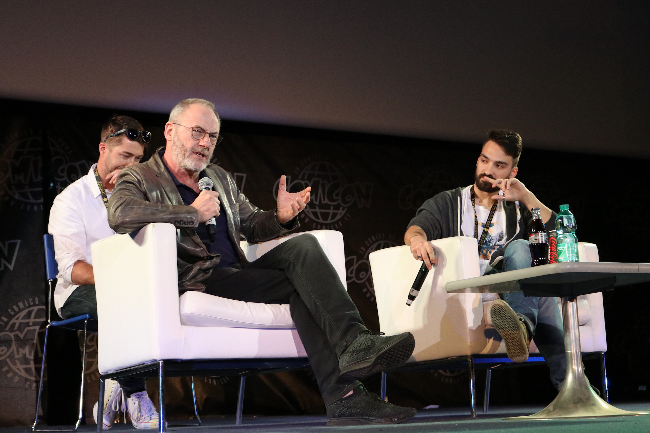 Comicon 2017: Liam Cunningham all'incontro