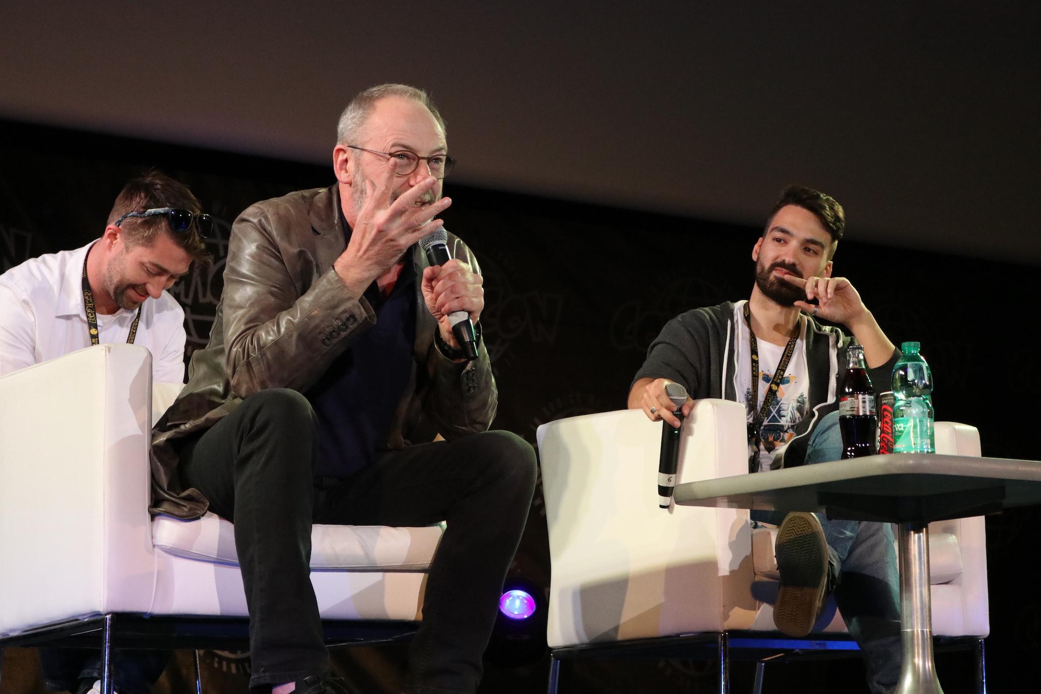 Comicon 2017: Liam Cunningham risponde alle domande